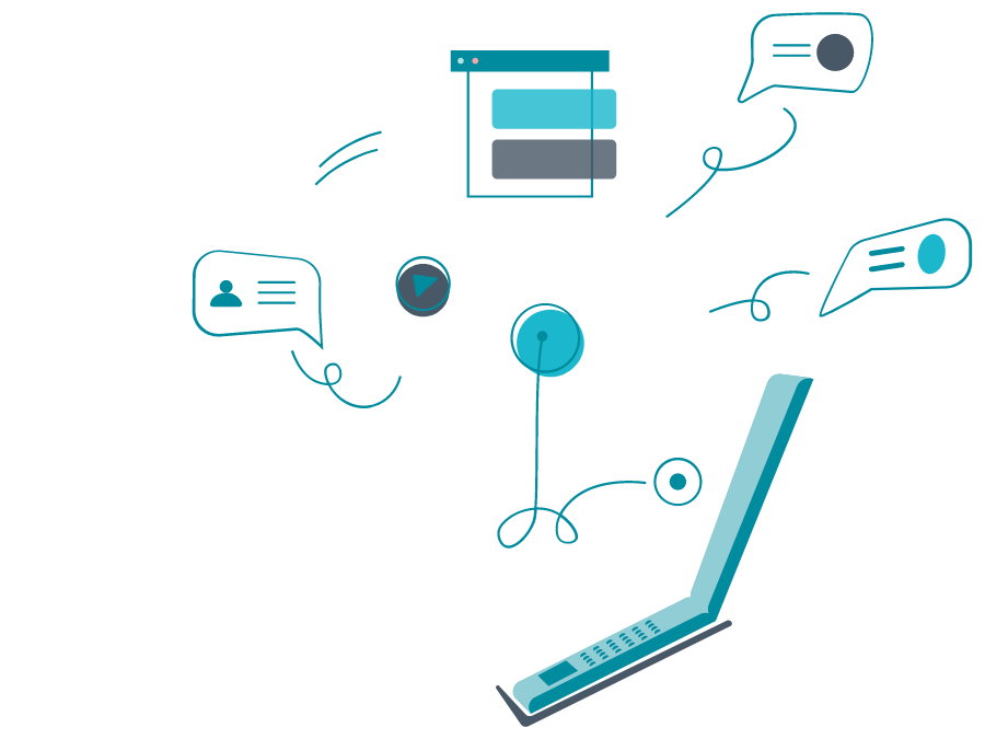 laptop-interaction